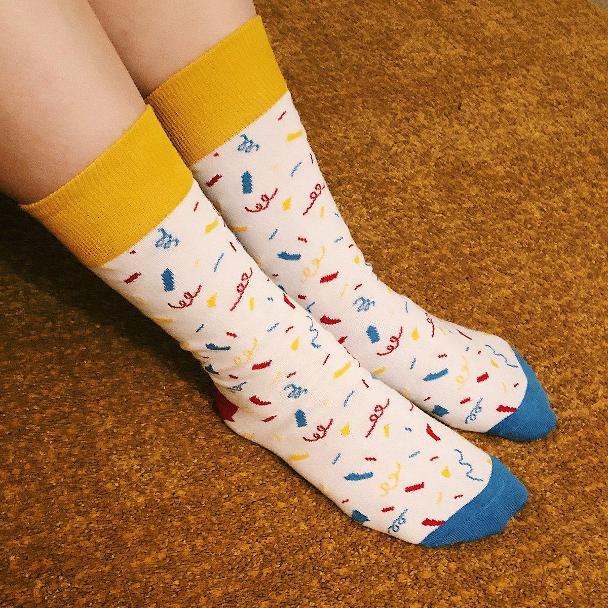 Image of Clown Confetti Socks!
