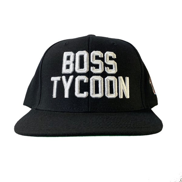 Image of BOSS TYCOON - BLACK SNAPBACK