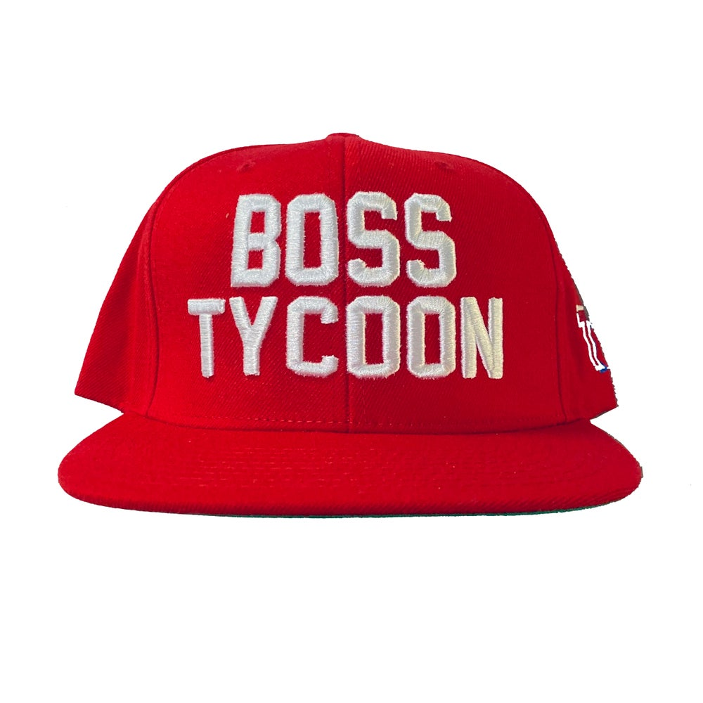 Image of BOSS TYCOON - RED SNAPBACK