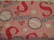 Image of Softball Throw Blanket (1 In Stock)