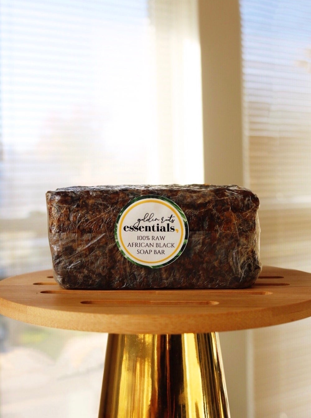 Image of 100% Raw African Black Soap