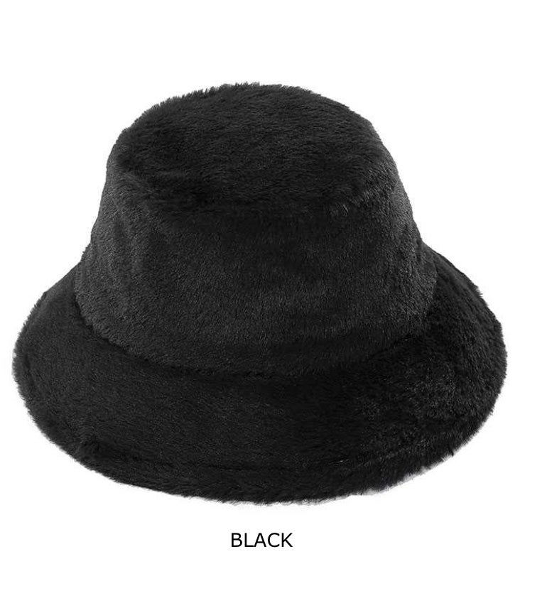 Fuzzy 90s Bucket Hat