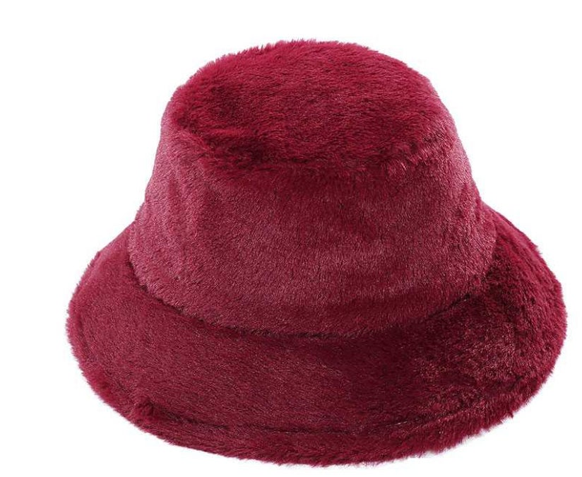 Image of Fuzzy 90s Bucket Hat