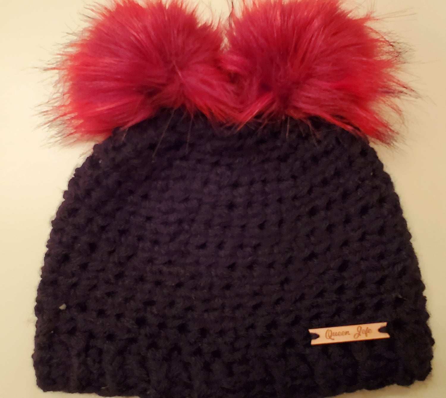 Image of Double Pompom Beanie-Youth