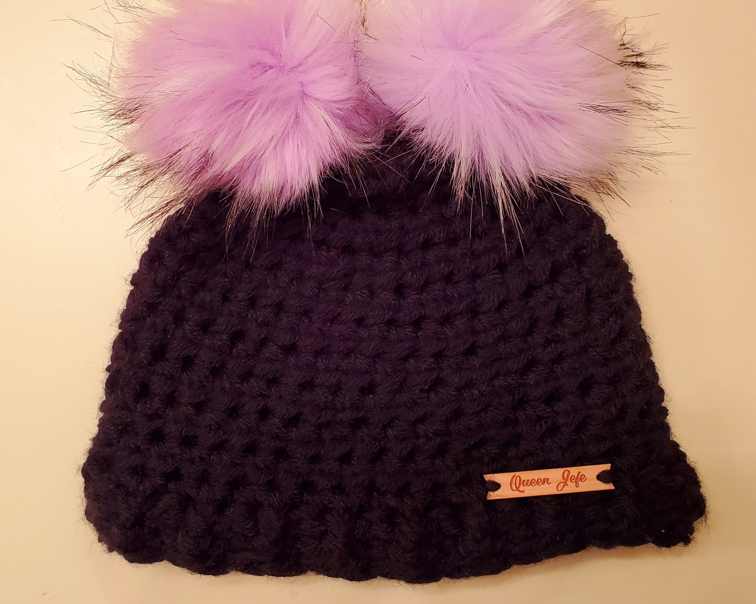 Image of Double Pompom Beanie-Toddler