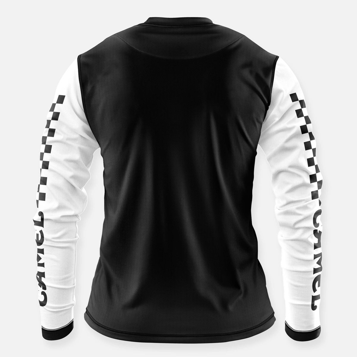 Image of CAMEL SMOKERCROSS JERSEY BLACK-WHITE