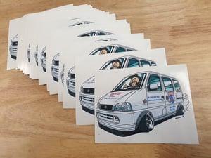 Image of Barrel Bros Stickers.