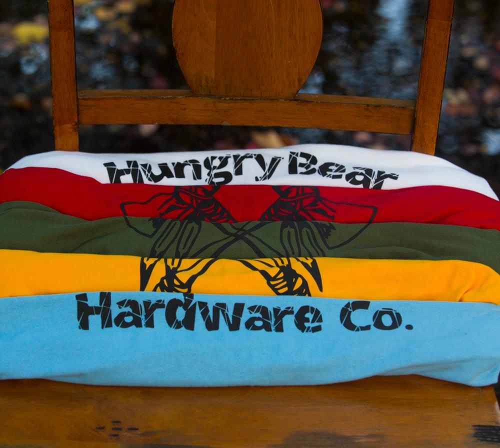 "Image of Hungry Bear ""tomahawk"" T-shirt"