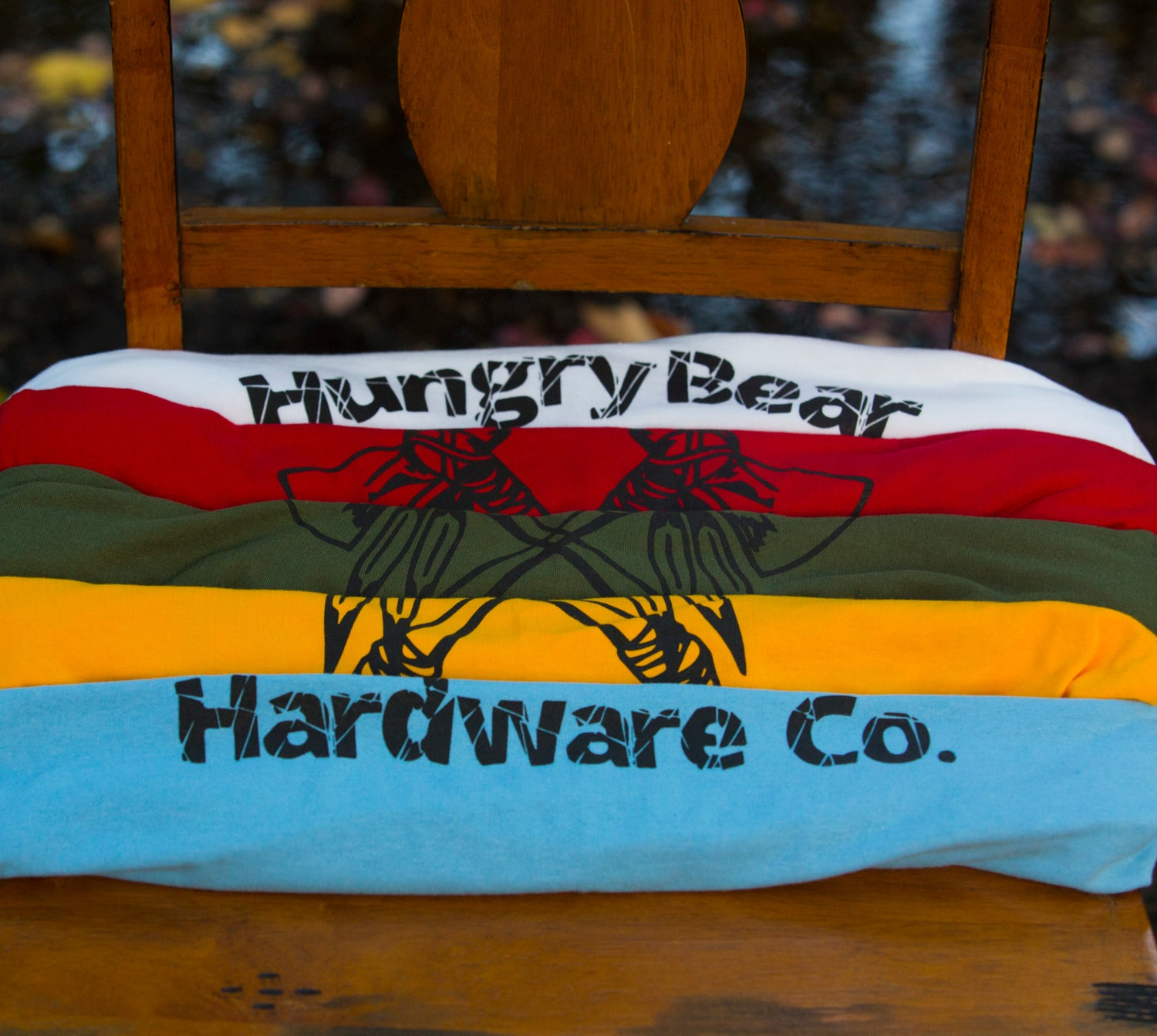 "Image of Hungry Bear ""tomahawk"" T-shirt"