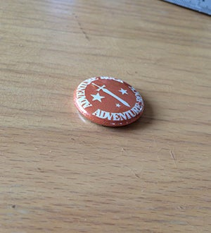 Image of *NEW* ADVENTURE ROCK PIN
