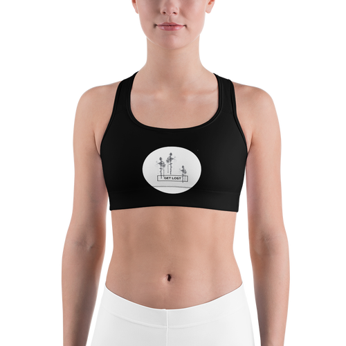 Image of Get Lost Padded Sports Bra