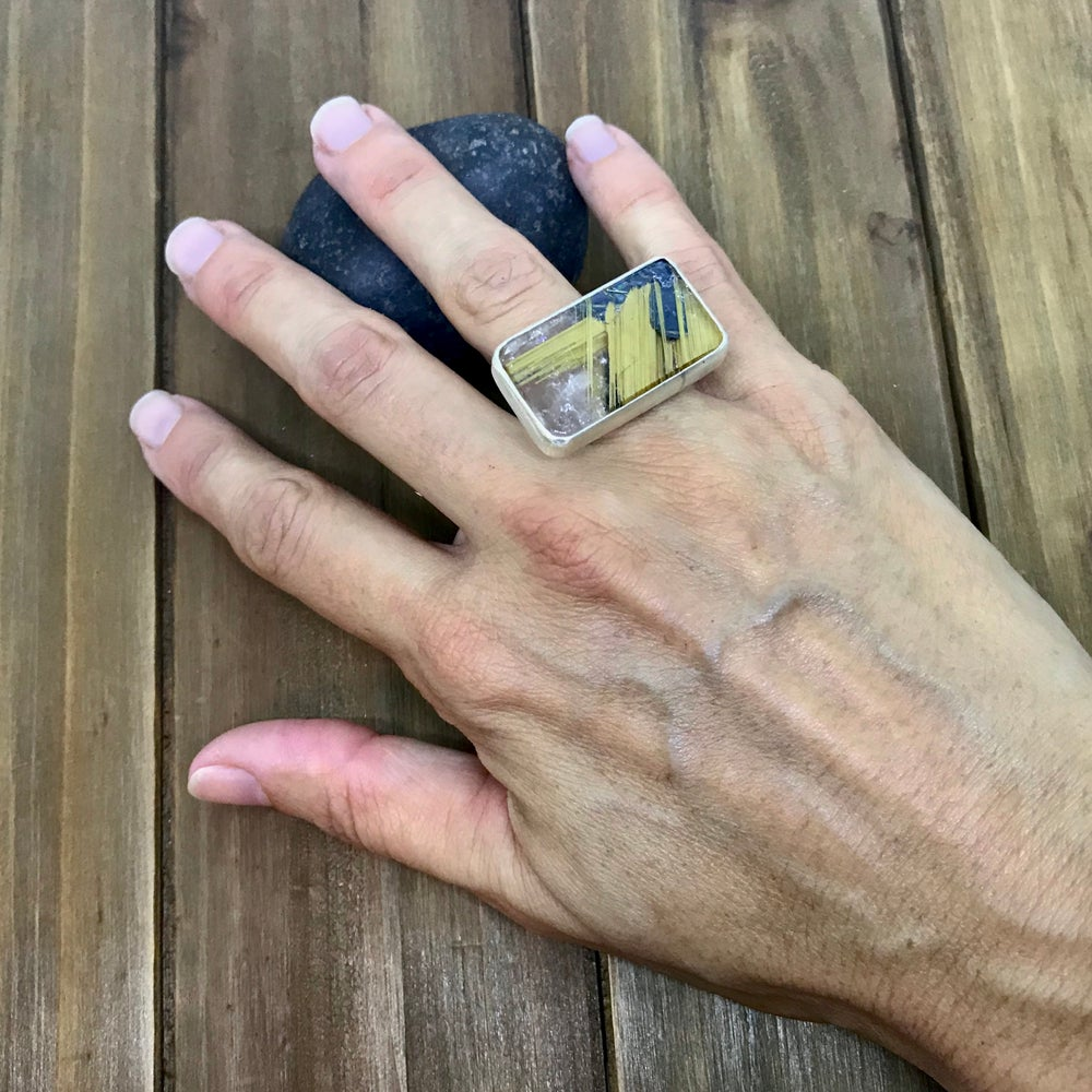 Image of One of a Kind Rock Ring