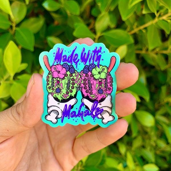 Image of Mahalo Los Muertos 3 Sticker Pack