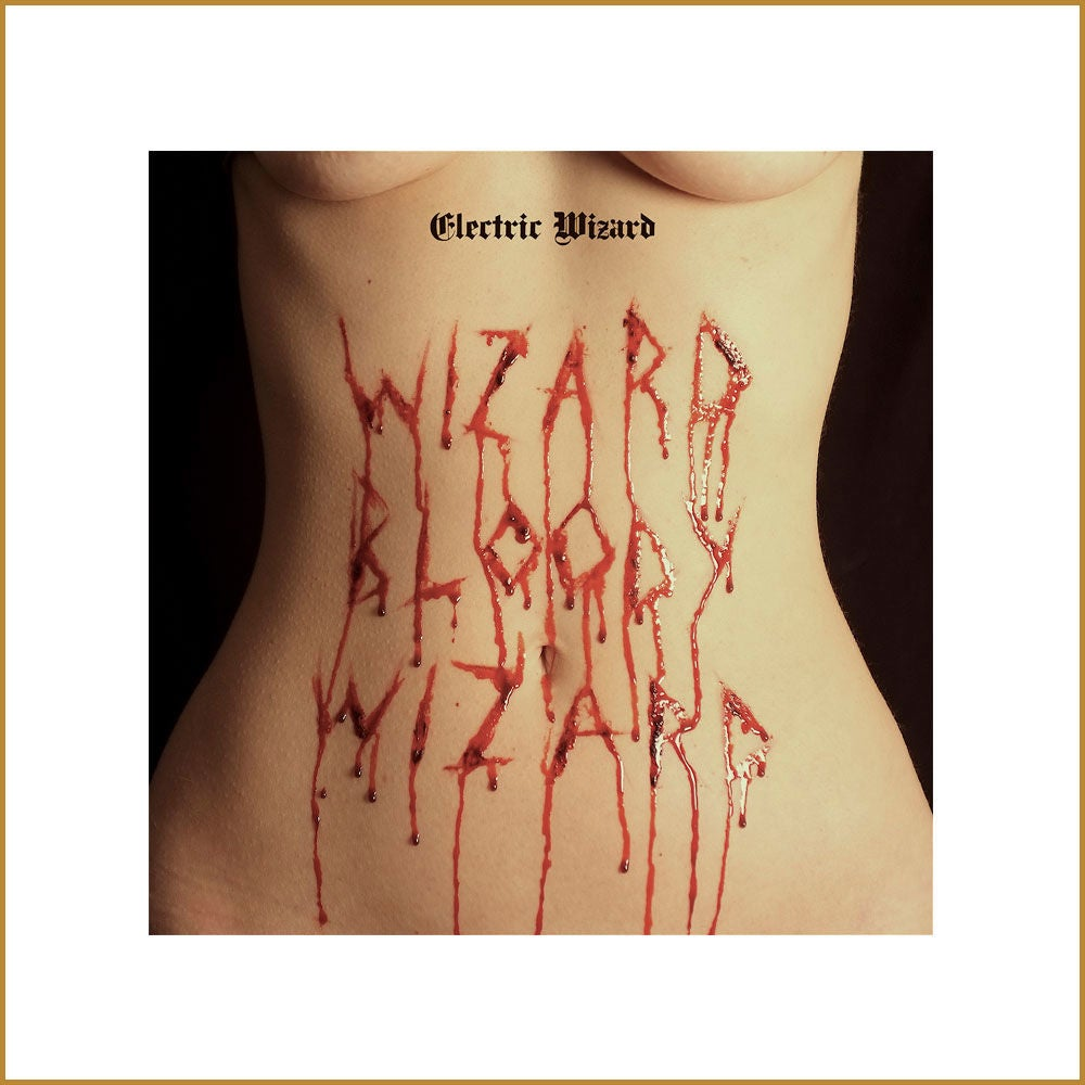 Image of ELECTRIC WIZARD - Wizard Bloody Wizard. Black Vinyl. Gatefold + Poster.