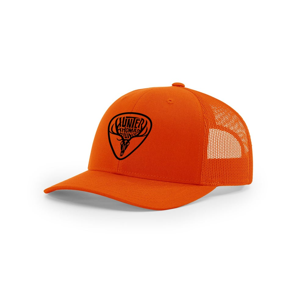 Image of Blaze Orange Trucker Hat