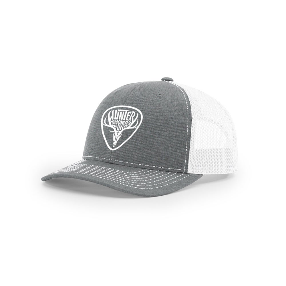 Image of Heather Gray/White Trucker Hat