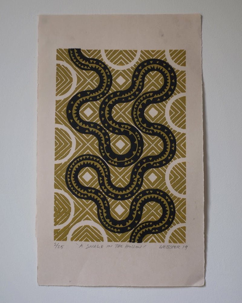 Image of A Snake In The Hollow