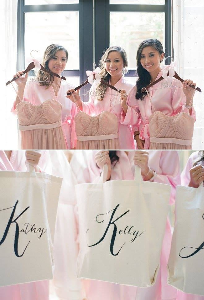 PERSONALIZED CALLIGRAPHY CANVAS TOTE