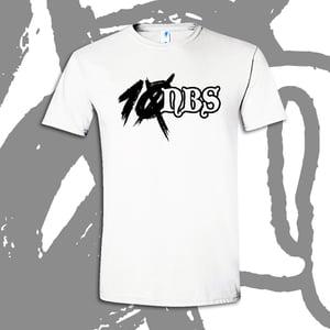 """Image of NEW! """"TEN"""" Team Logo T-shirt [White]"""