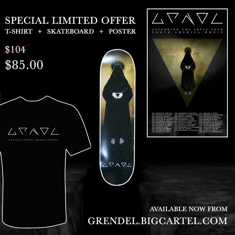 Image of ATA Pack (strictly limited): Skateboard, T-shirt & Poster