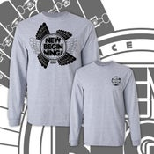 """Image of NEW! NBS """"WINGS"""" Long Sleeve T-shirt"""