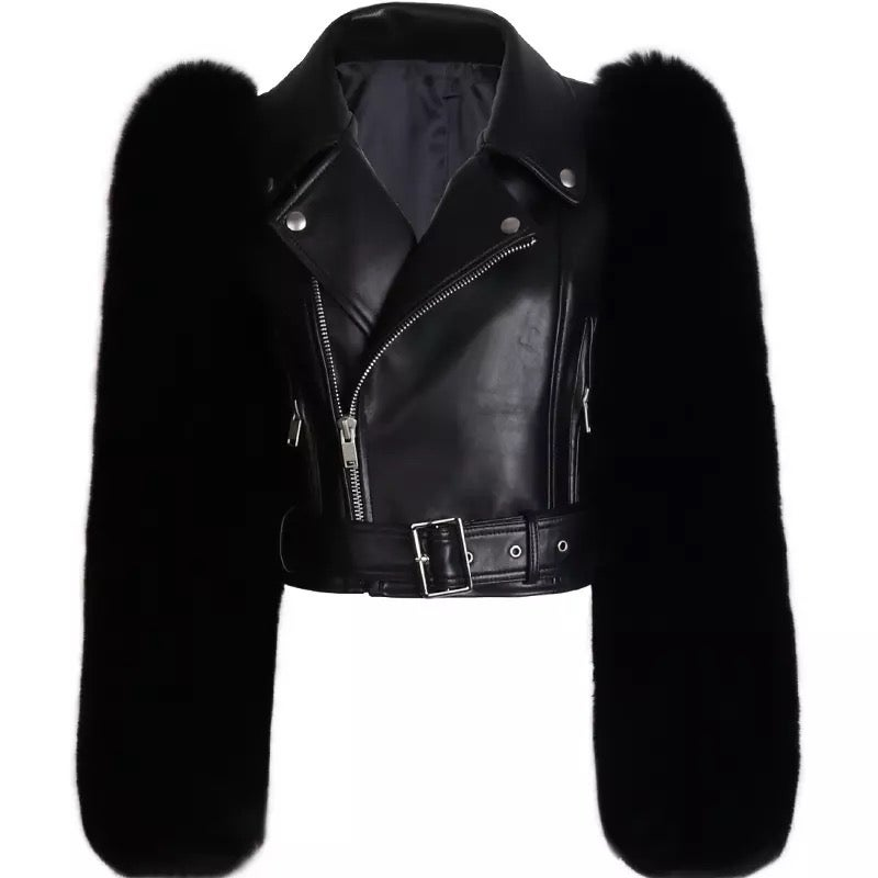 Image of OUTLANDISH FUR JACKET