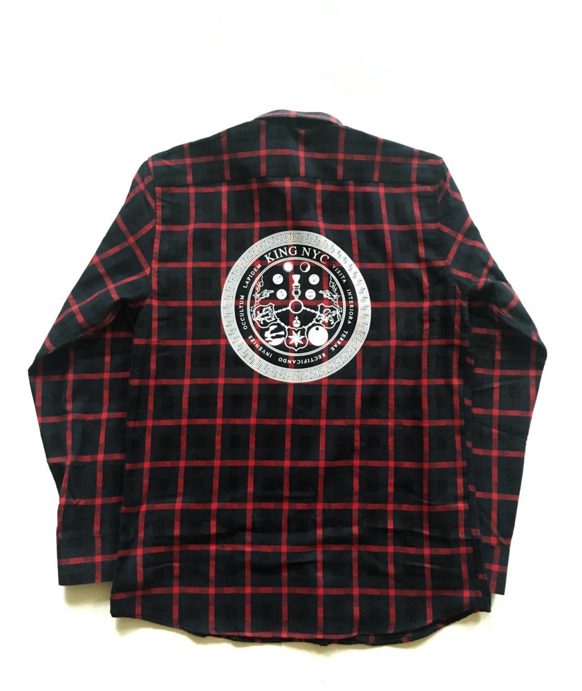 Image of KingNYC Vitriol Flannel