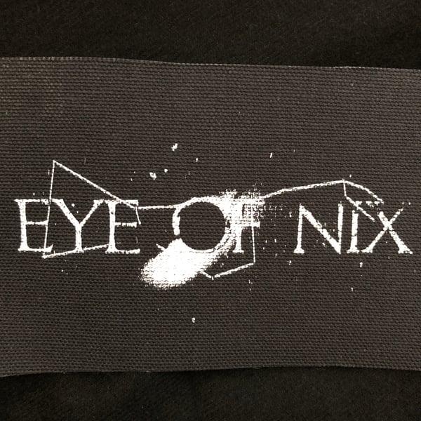 Image of Eye of Nix Silkscreened Canvas Patch (Broken Press design)