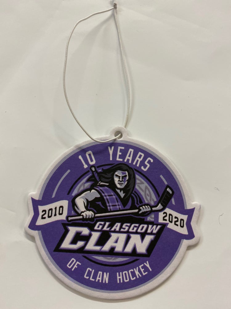 Image of 10 Year Clan-iversary Car Freshner