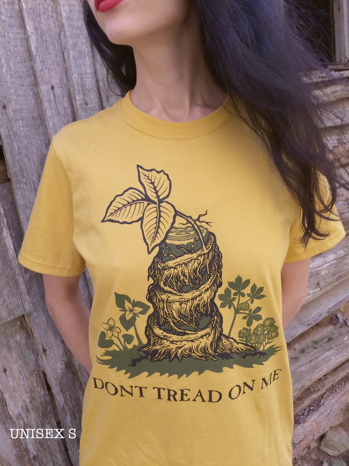 Image of DONT TREAD ON POISON IVY [organic shirt]