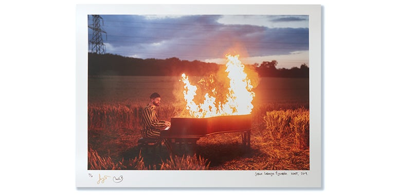 Image of THE S.L.P. METALLIC PRINT *SIGNED* **LAST ONE REMAINING**