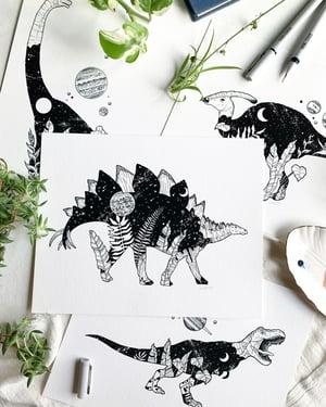 Image of Cosmic Stegosaurus