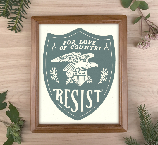 Image of Resist Archival Print