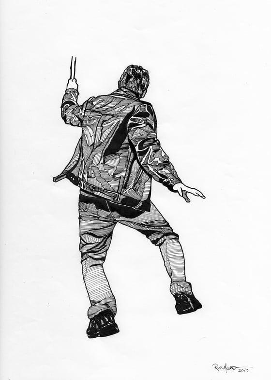 Image of Original Metallica Montreal character art