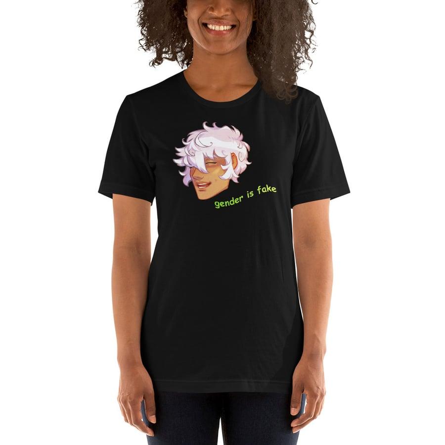 Image of Gender is Fake! Asra Sprite T-Shirt