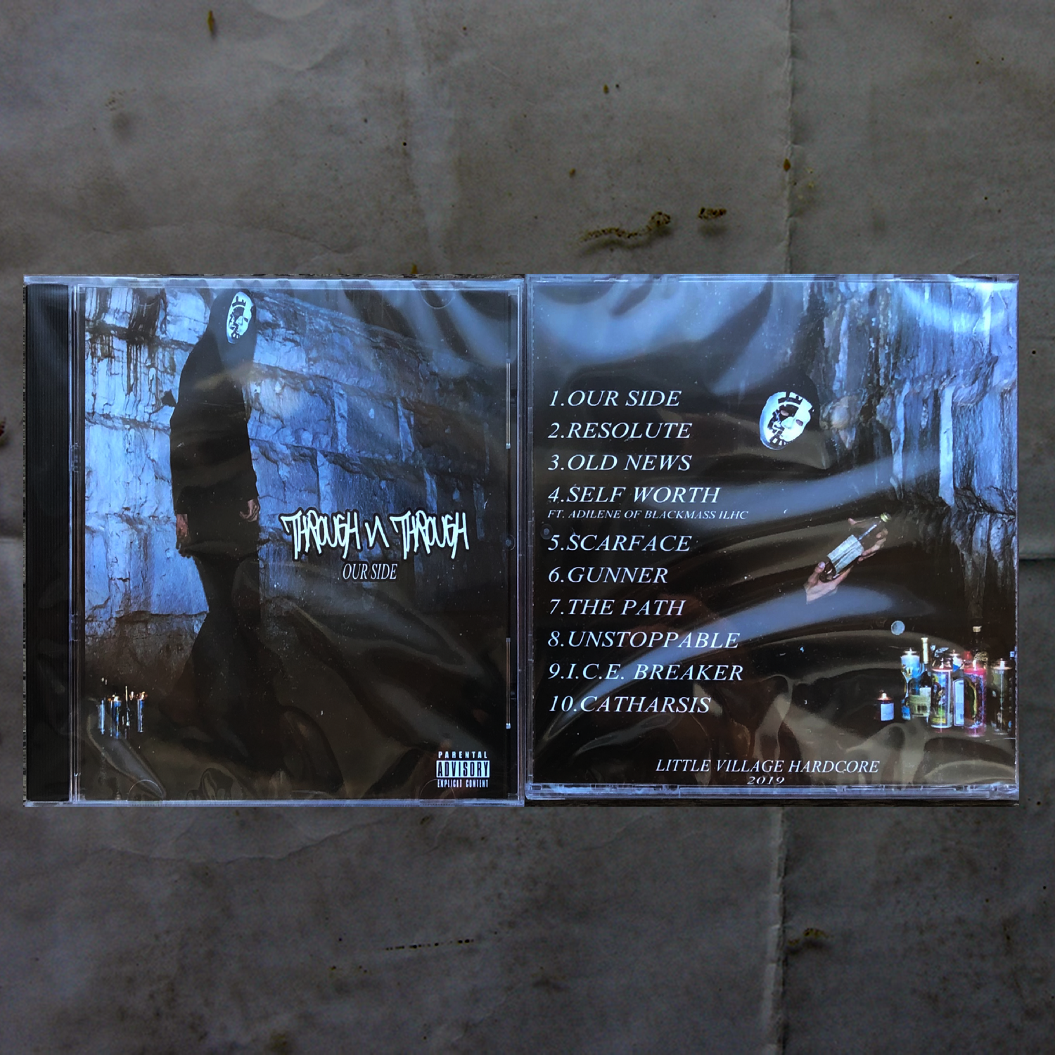 "Image of Through N Through ""Our Side"" CD"