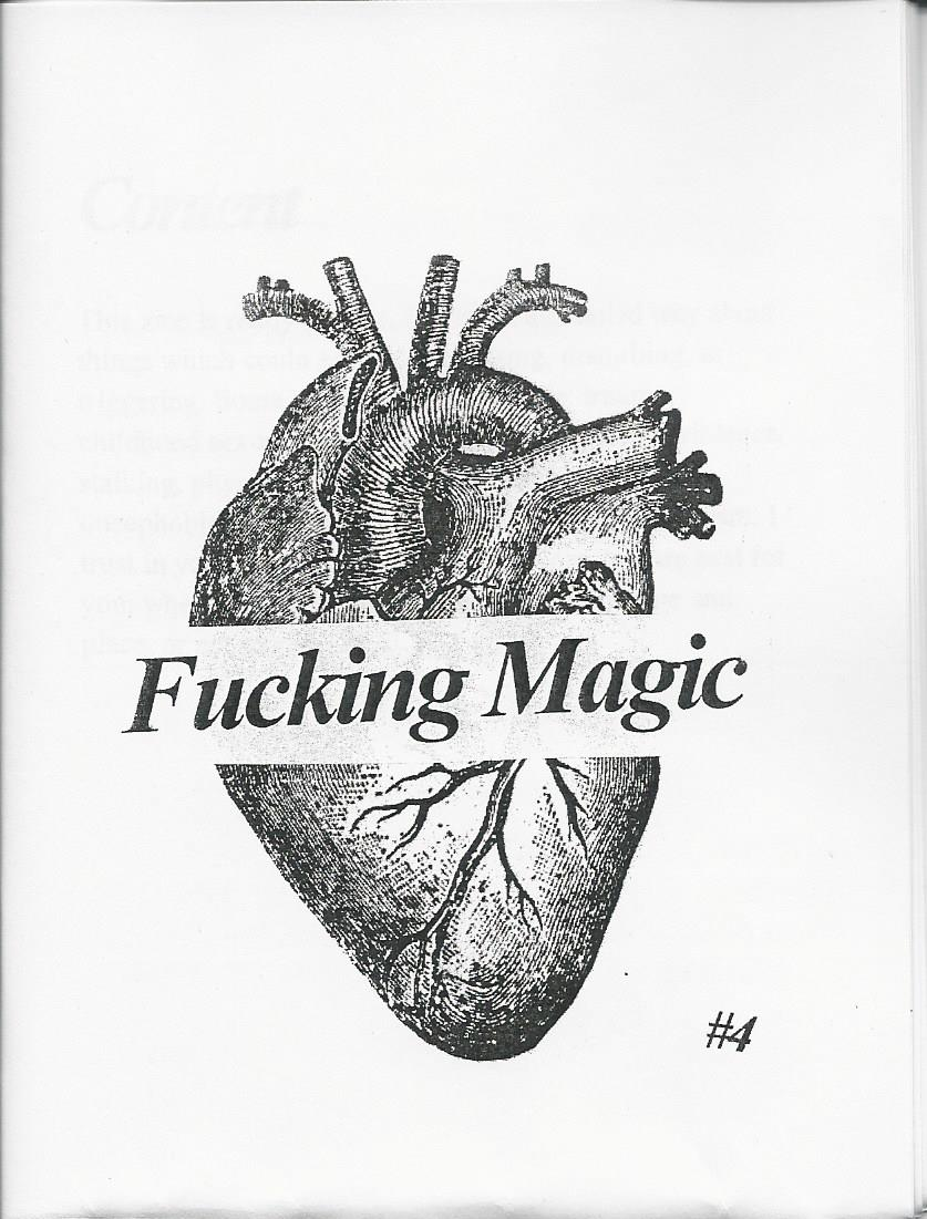 Fucking Magic #4 (Zine)