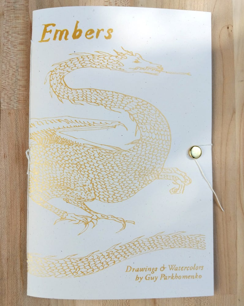 Image of Embers Art Book