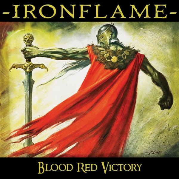 Image of IRONFLAME - Blood Red Victory
