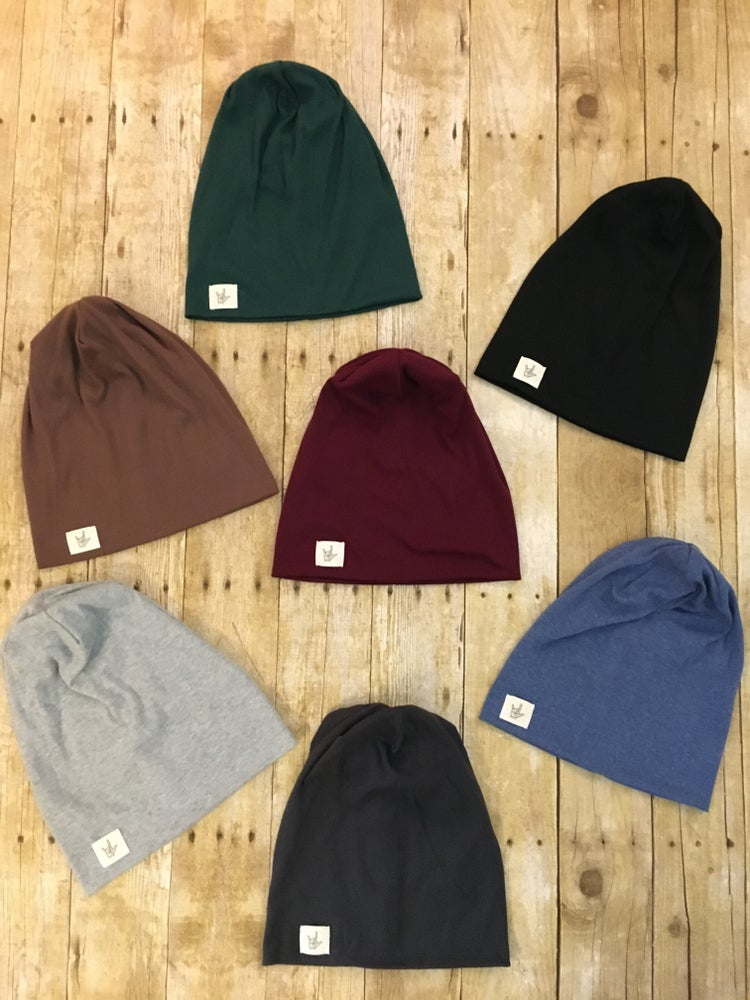 Image of Slouchy LOVE beanie