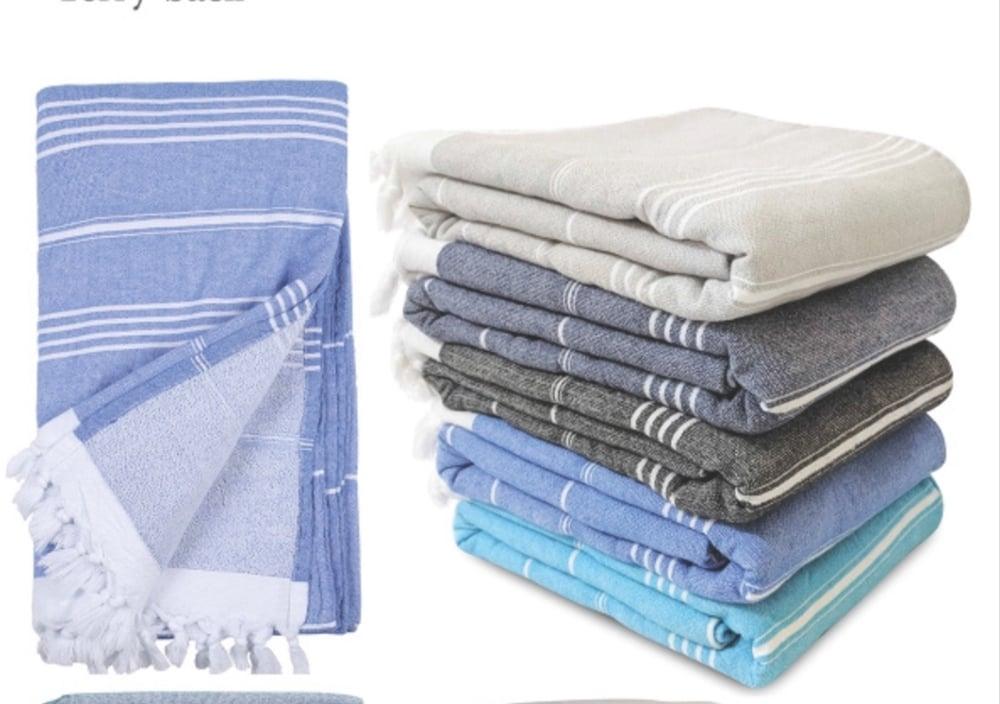 Image of Kids Turkish Hooded Towel
