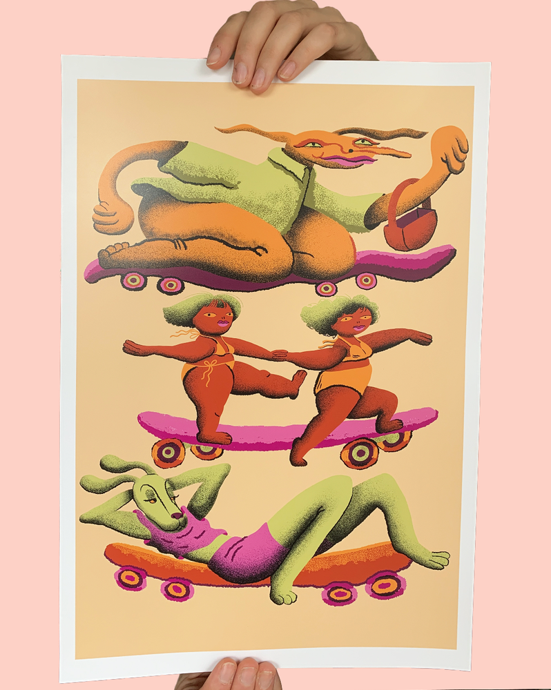 Image of Sk8 Monsters Print