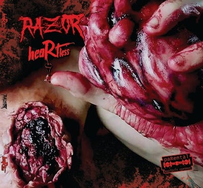 Image of RAZOR : HEARTLESS cd