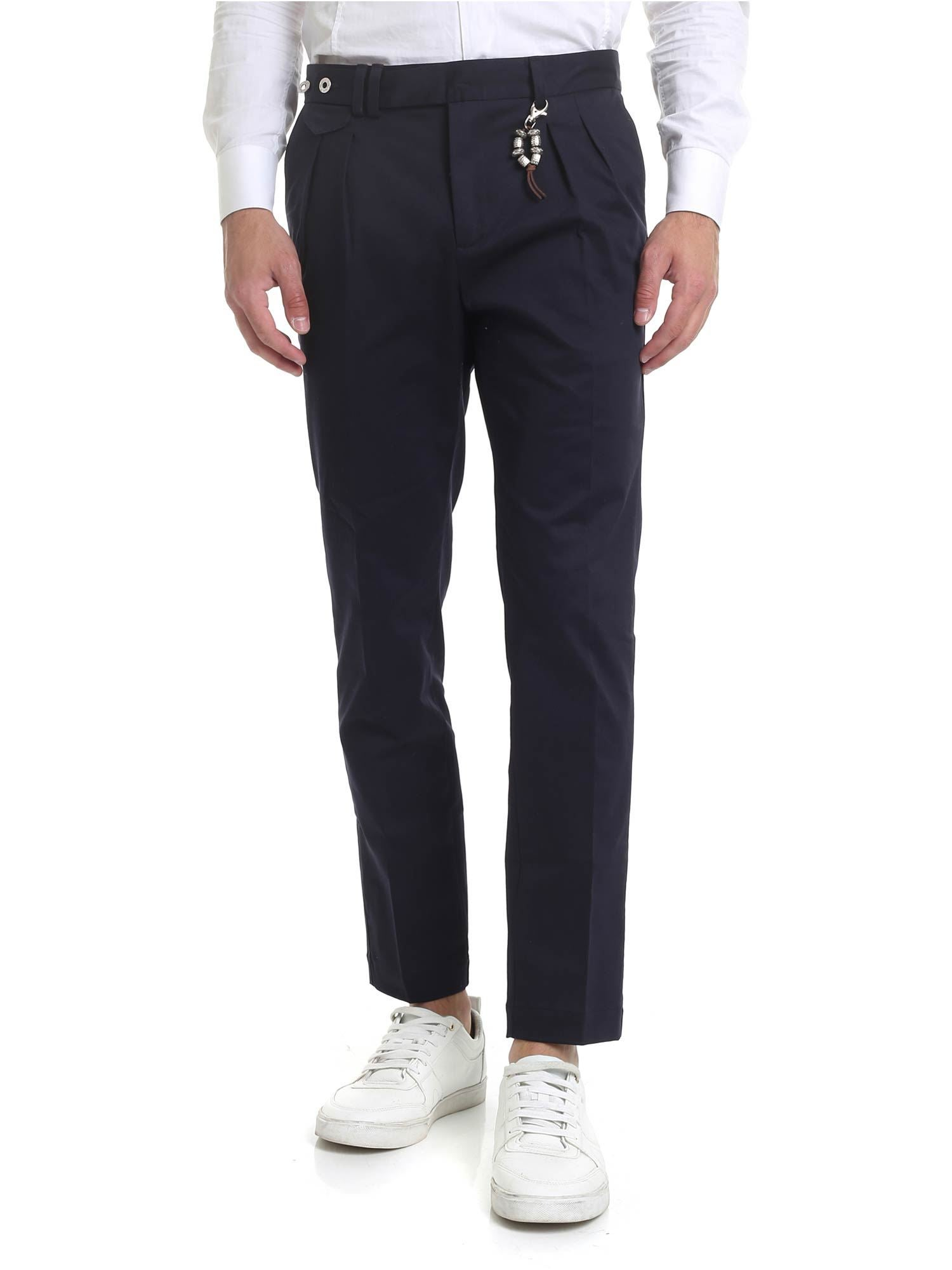 Image of Pantalone R96 blu scuro