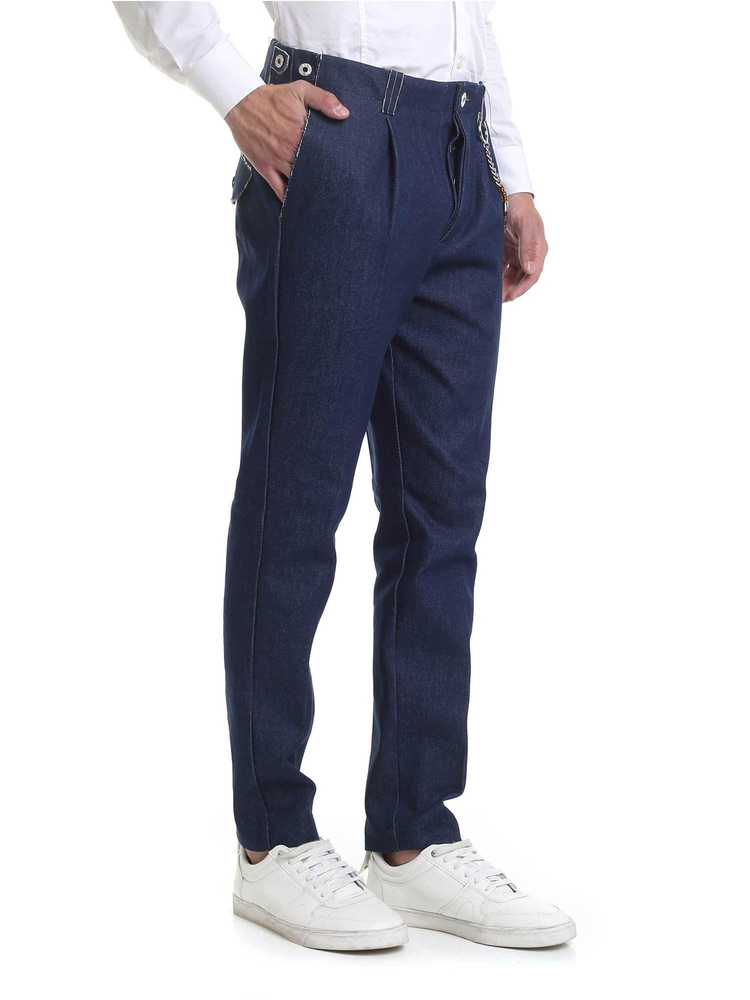 Image of Pantalone R103 denim blue