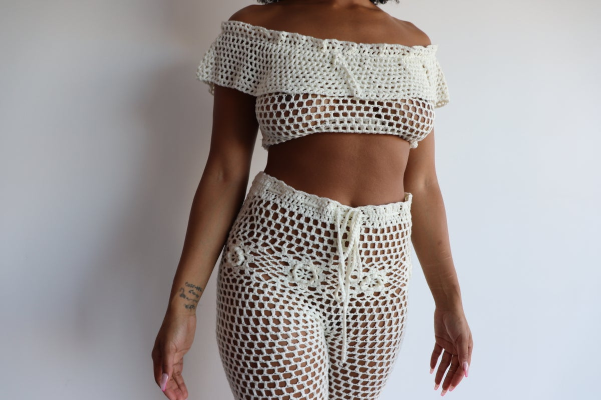 Image of Shyanne Crochet Set