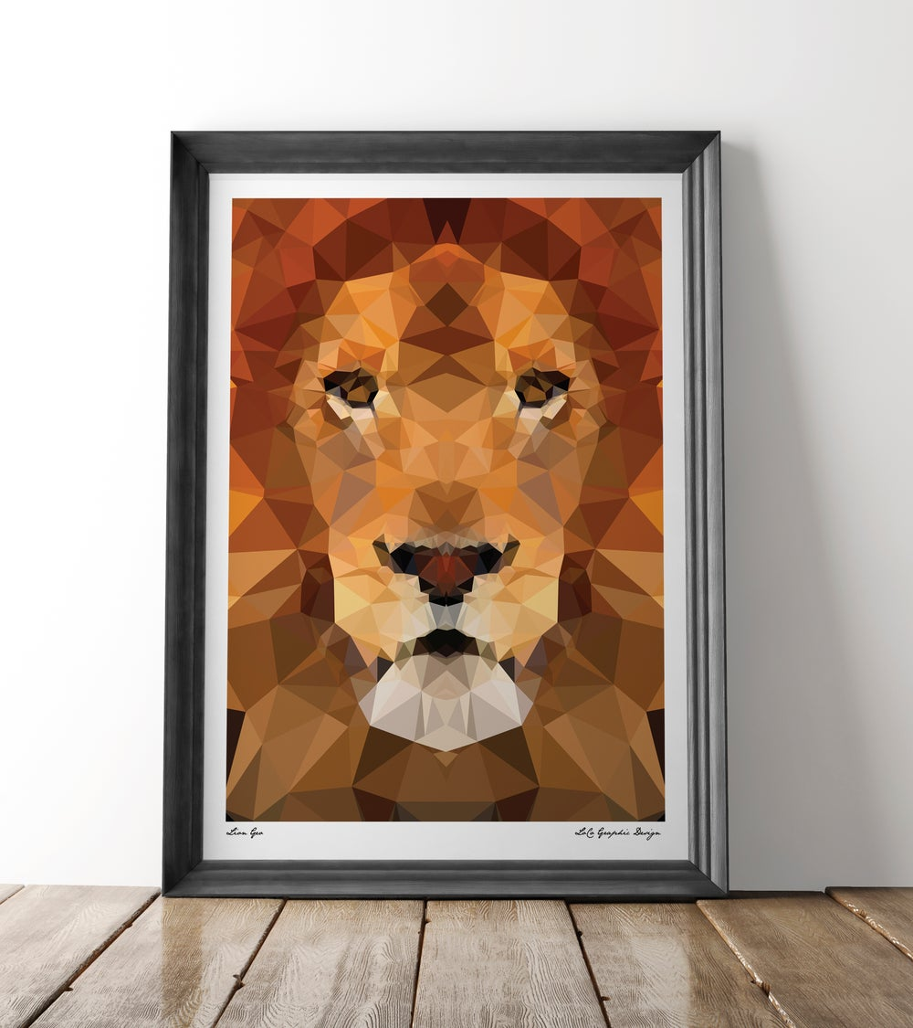 Image of Lion Geo
