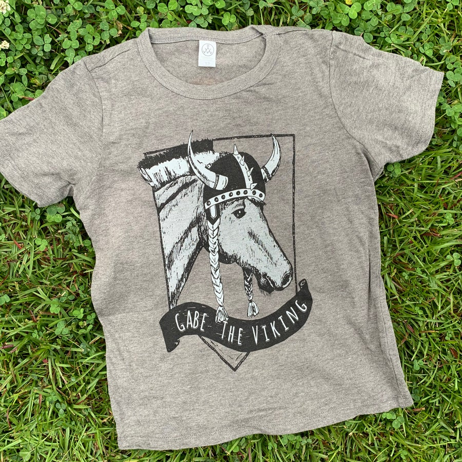 Image of Youth Gabe the Viking Short Sleeve Tee