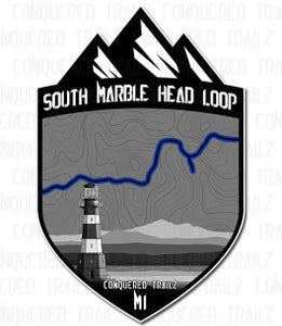 "Image of ""South Marble Head Loop"" Trail Badge"