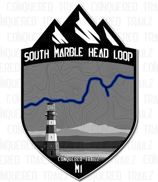 "Image of ""South Marble Head Loop"" Trail Badge"